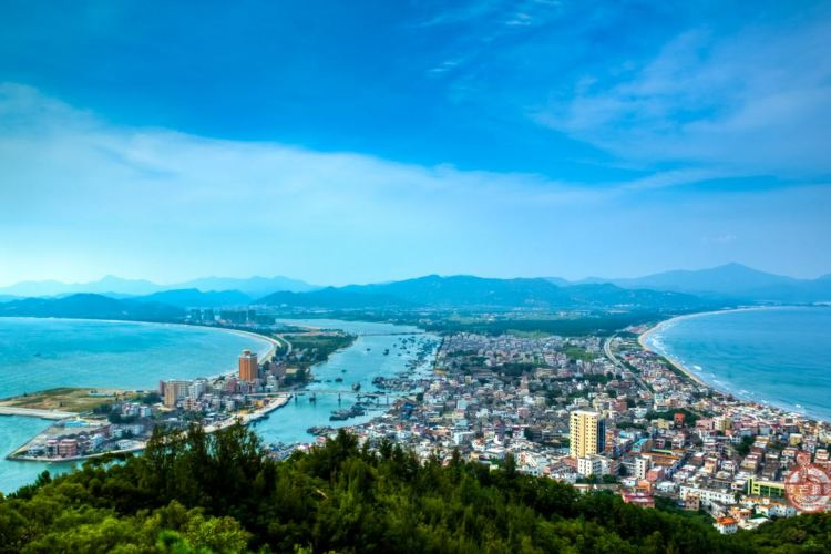 SZ【惠州2天-双湾版】巽寮湾·快艇上岛·天后宫·双月湾观景台