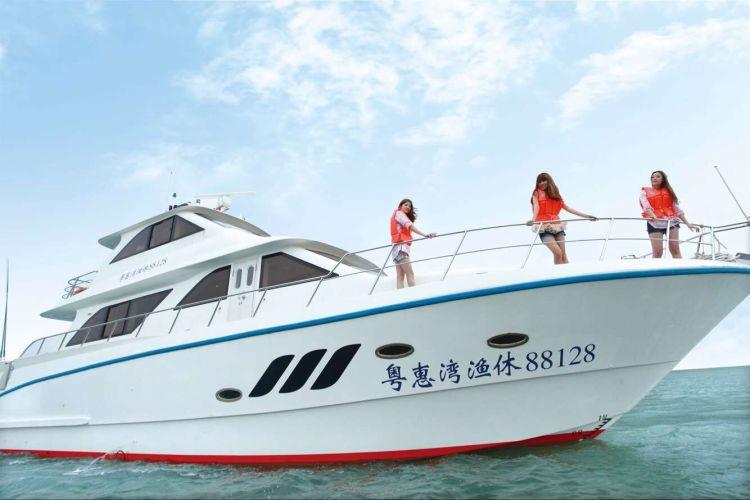 【大亚湾游艇】出海观光体验1小时