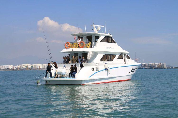 【惠州大辣甲岛】普通游艇出海4小时登大辣甲岛
