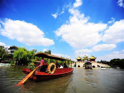 [扬州二日]<瘦西湖-大明寺-个园-东关街>