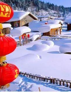 中国第一雪乡、亚布力激情滑雪、长白山雪韵天池、奇趣哈雪谷、五星长白温泉、雪地篝火、吉林雾凇、东方小巴黎哈尔滨 6 日