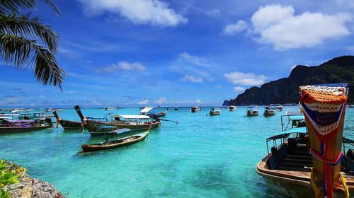 【玩島普吉 青島出發】(贈送旅拍)藍鉆珊瑚島+大小PP島+帝王島+神仙半島4晚6日游