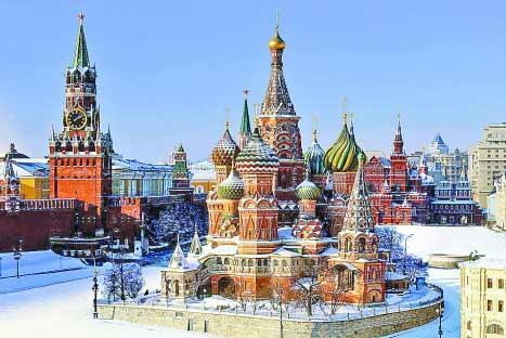 【12月青島出發去俄羅斯 青島直飛】(免簽  一價全含)莫斯科+圣彼得堡+金環小鎮一價全含 單動單臥 9 日