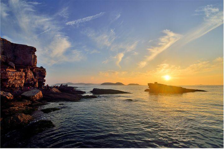 青島出發周邊海島旅游——九丈崖+仙境源+月牙灣大巴純玩二日游