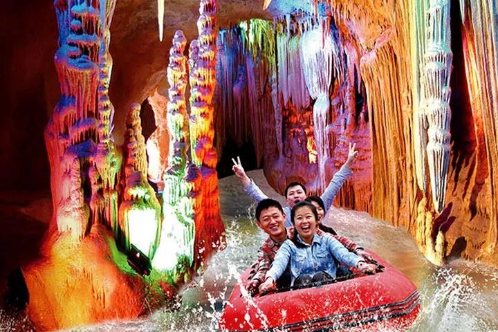 2020年春节-泰山、泰山地下大裂谷、花灯会二日游