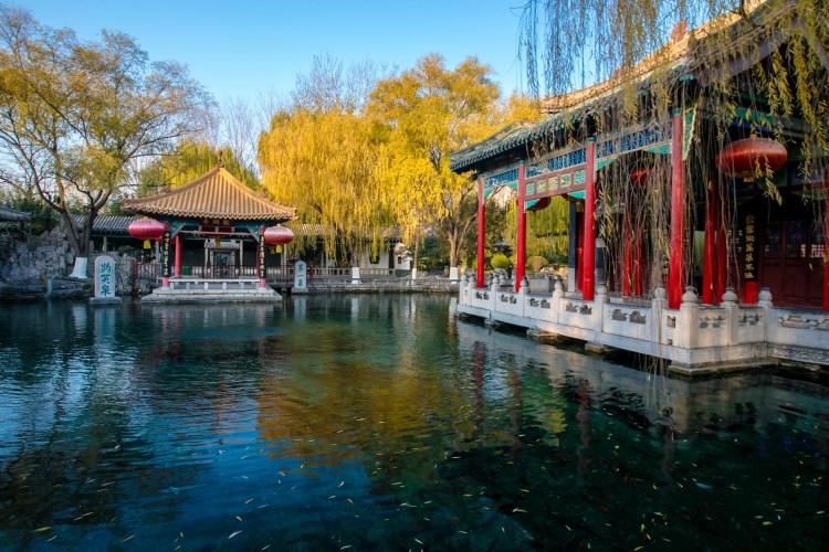 【濟南大巴】濟南野生動物園、黑虎泉、大明湖、解放閣、芙蓉街二日游